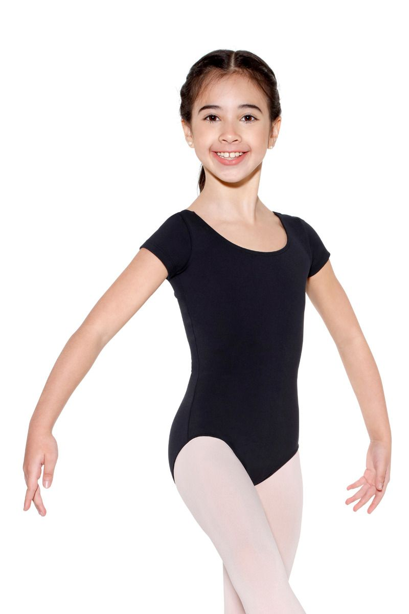 Jersey Spandex Cap Sleeve Leotard - Child