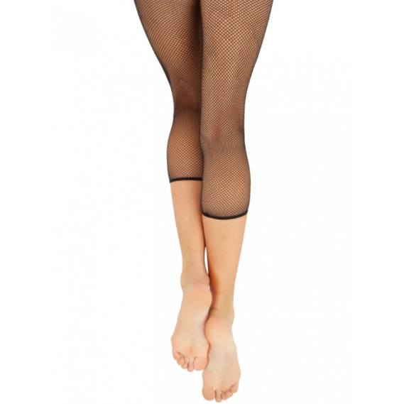Tights - Crop Seamless Fishnet - Adult