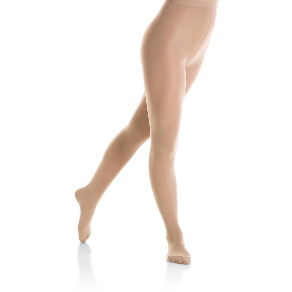Tights - Nylon Footed Tights - Adult