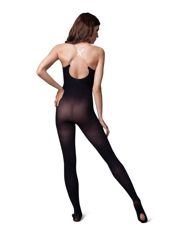 Tights - Transition Bodytights With Clear And Opaque Straps