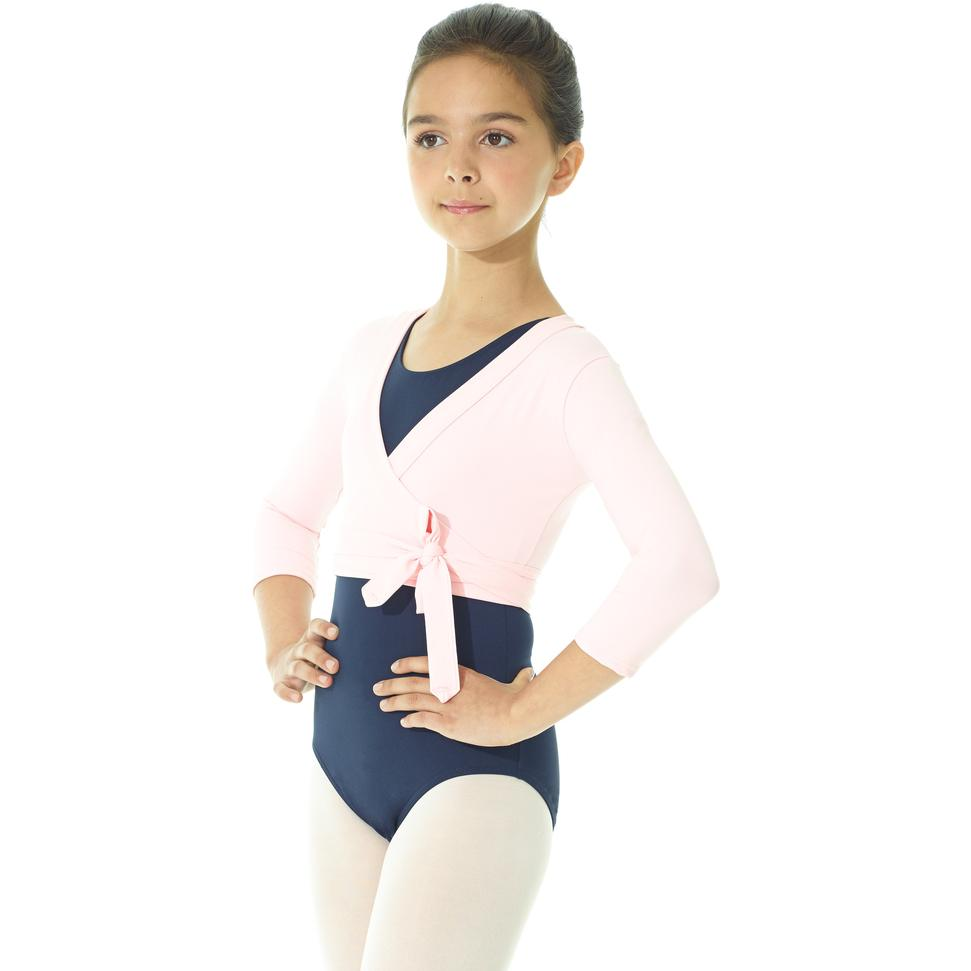 Tops - 3/4 Sleeve Wrap Top - Child