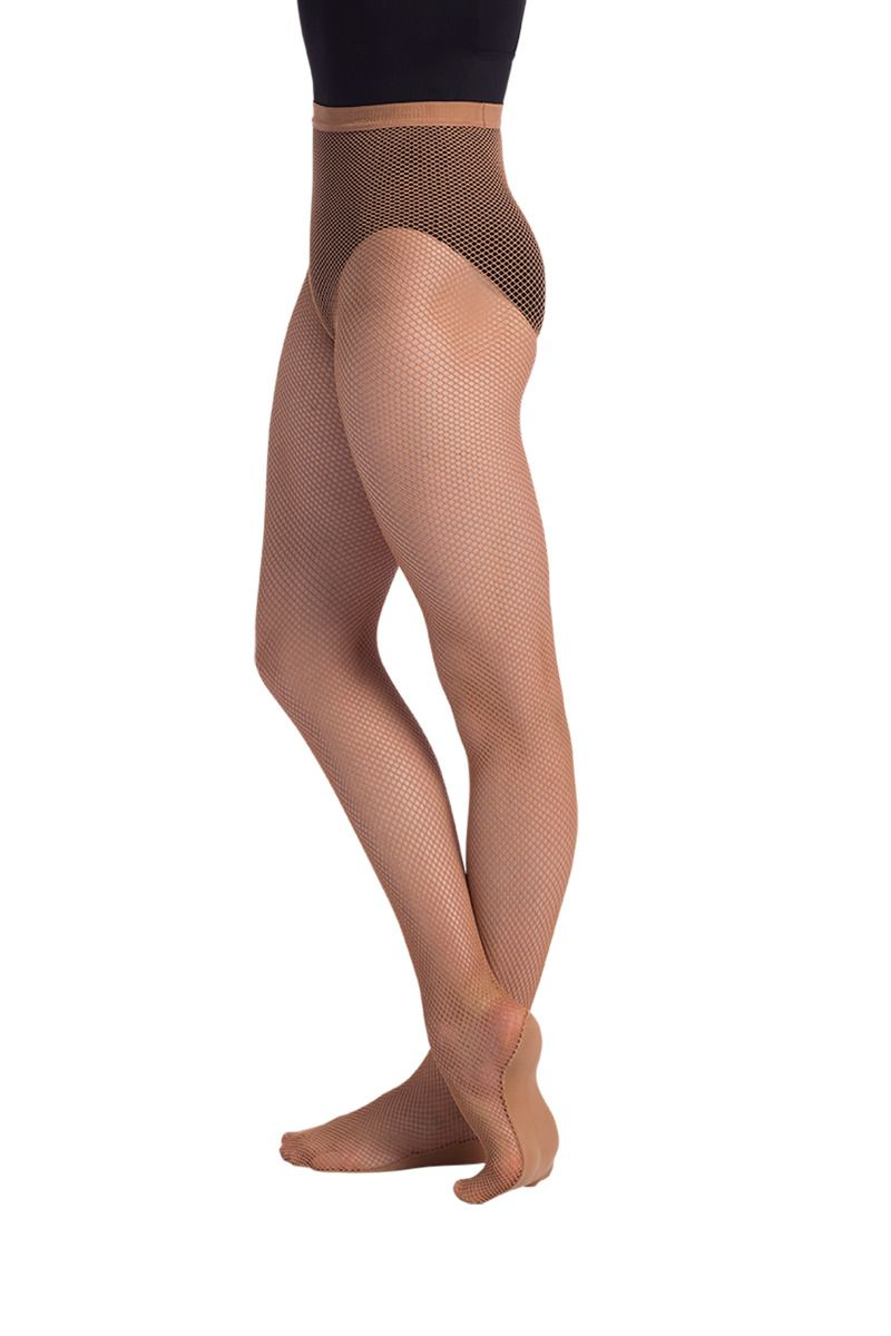 Seamless Fishnet Tights - Adult