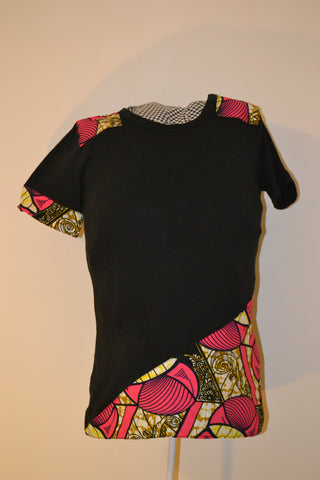 Black and pink Chitenge (For Her)