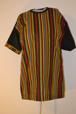 Full front Chitenge  stripes (Unisex)