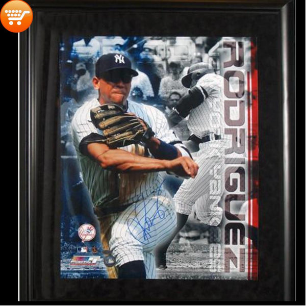 A-Rod Signed New York Yankees Framed 16x20 Collage Authentic - Bargain Love