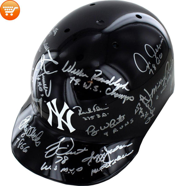 1978 Yankees Multi Signed Yankees Batting Helmet - Bargain Love
