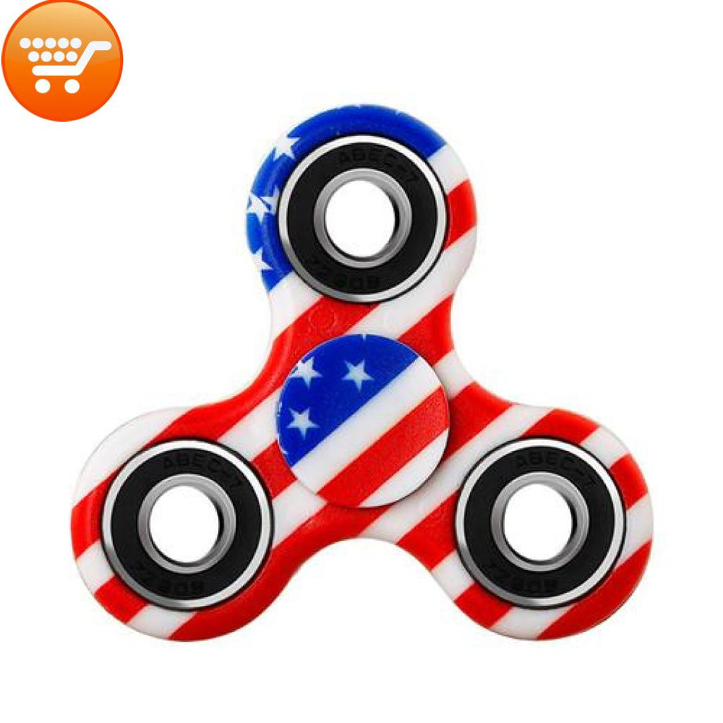 Colorful Multi-Lobbed Fidget Spinner - Offer - Bargain Love