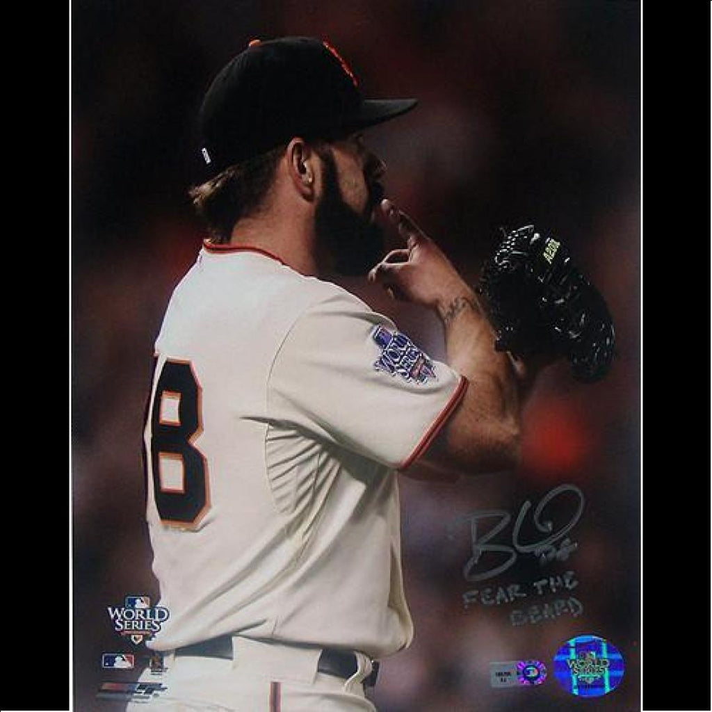 "Brian Wilson San Francisco Giants 8x10 Hand Signed and ""Fear The Beard"" - Bargain Love"