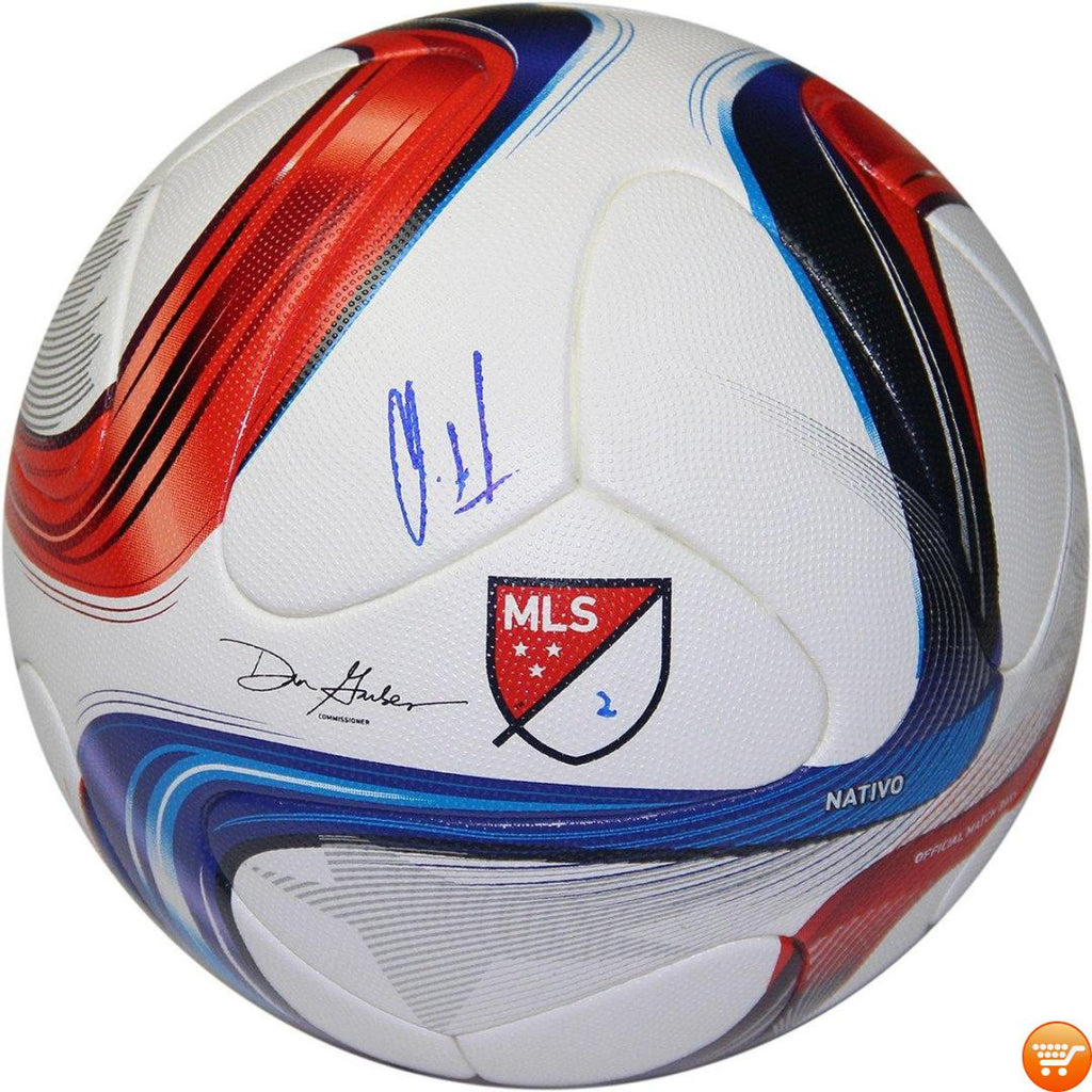 Clint Dempsey Signed Adidas Official Match Ball - Bargain Love