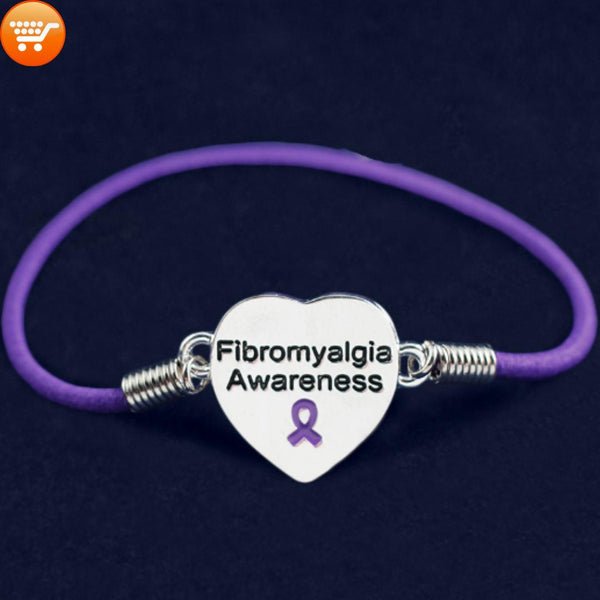 Fibromyalgia: Hope - Educate - Cure:  Awareness Bracelets - Bargain Love