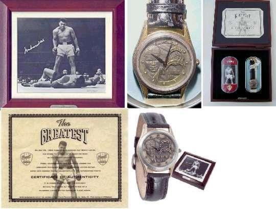 Ali Collection Authentic Muhammad Ali Fossil Watch - Bargain Love