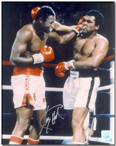 Ali Vs Holmes - Authentic Larry Holmes Signed Photo - Bargain Love