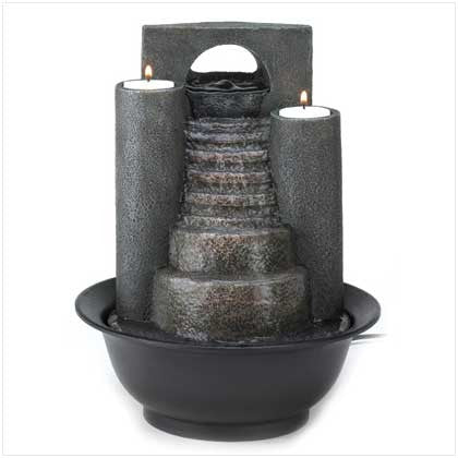 Eternal Steps Peaceful Tabletop Water Fountain - Bargain Love