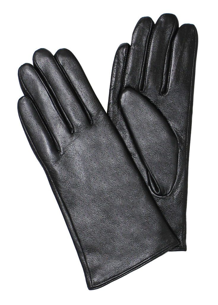 Ladies Real Leather Gloves with Velvet Fleece Lining - Bargain Love