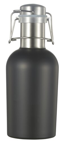 Black Matte 32OZ Beer Growler