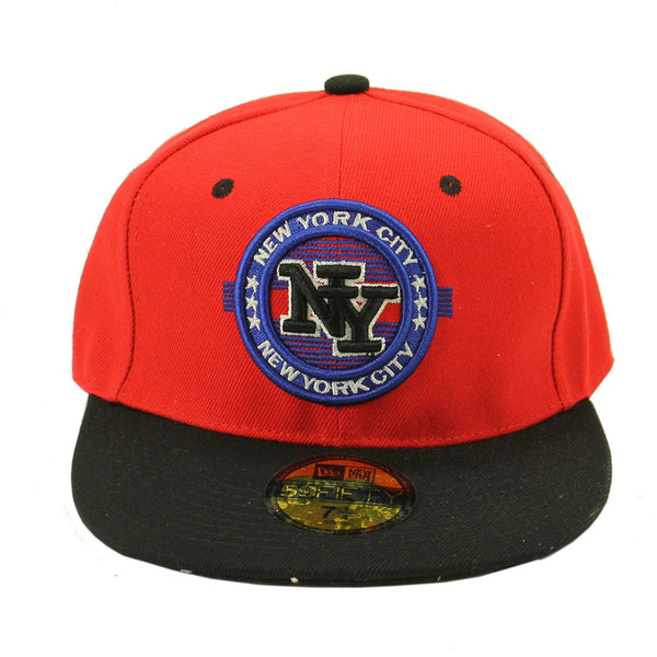 NYC New York City Patch Snapback 59/50 Baseball Cap - Bargain Love