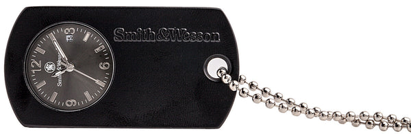 Smith & Wesson Dog Tag Watch - Black - Bargain Love