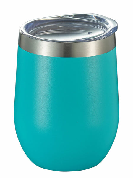 Teal Stainless Steel Double-Walled Insulated Travel Mug