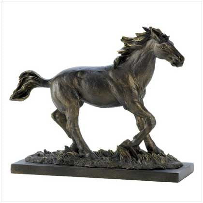 Wild Stallion Statue - Bargain Love