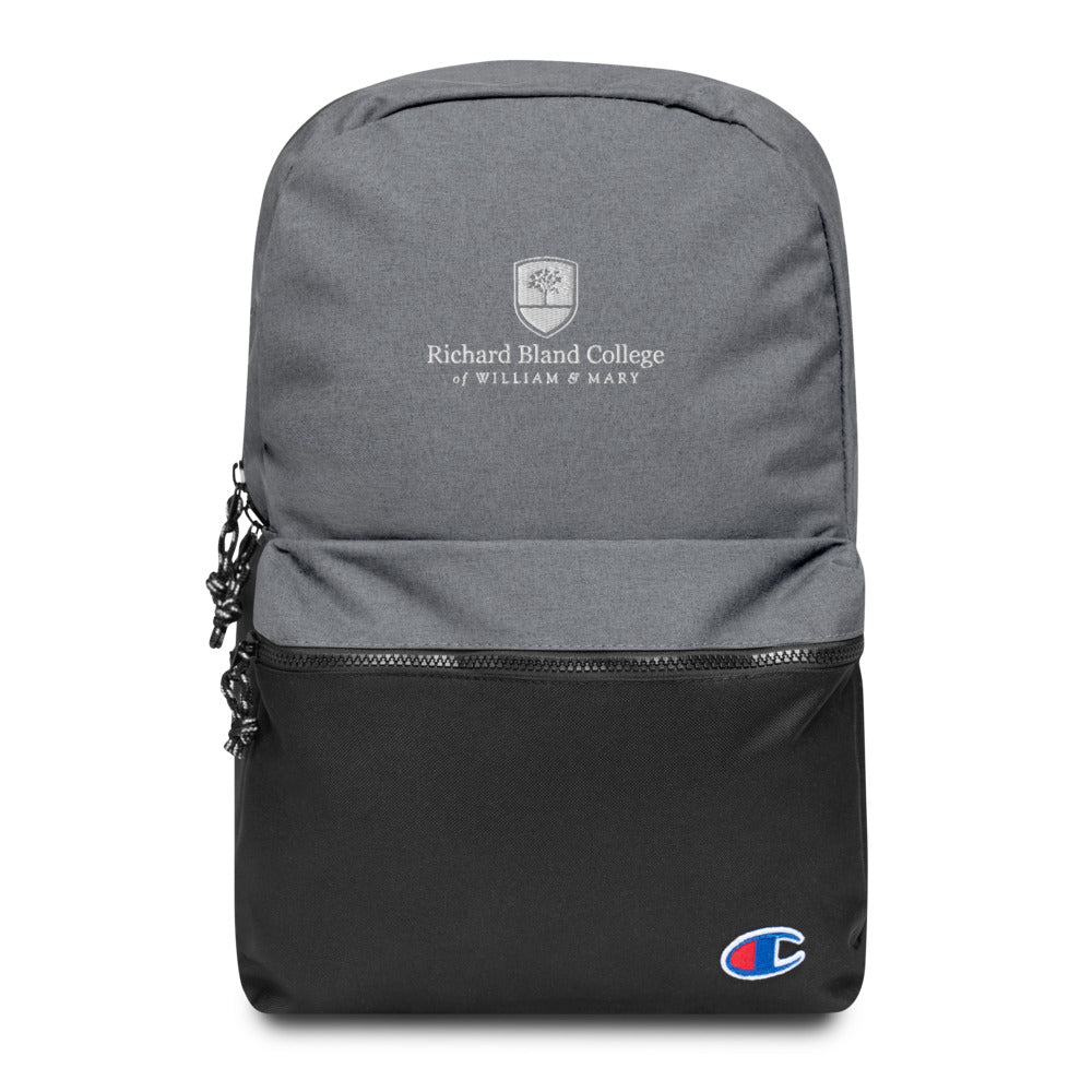 Embroidered Richard Bland College Champion Backpack