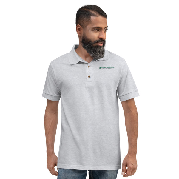 Embroidered Richard Bland College Men's Polo Shirt