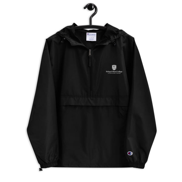 Richard Bland College Embroidered Champion Packable Jacket