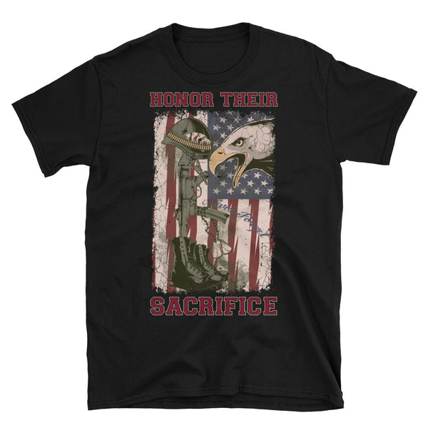 Honor Their Sacrifice Mens T-Shirt