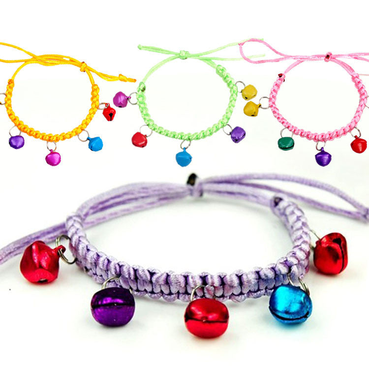 Beautiful Color Bell Dog Collar - Bargain Love