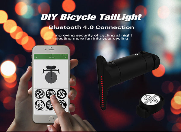 Smart Rechargeable Bicycle Tail light - Bargain Love