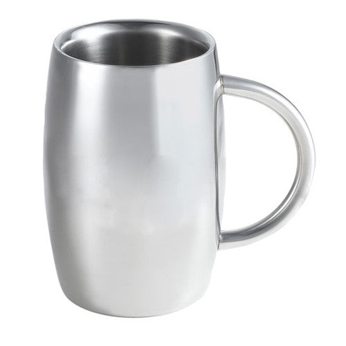 Emerald Double Walled Stainless Steel Beer Mug