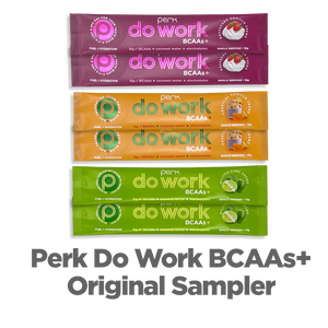 Perk Do Work BCAAs+ Original Sampler