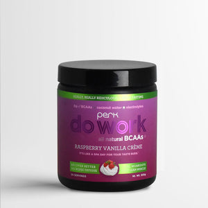 Do Work BCAA+ All Natural Raspberry Vanilla Creme (20 servings)