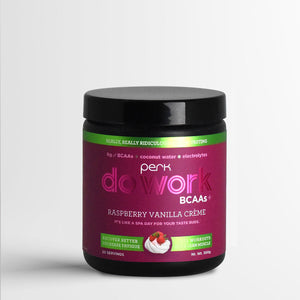 Do Work BCAA+ Original Raspberry Vanilla Creme (20 servings)