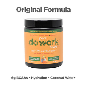 Do Work BCAA+ Original Tropical Vanilla Creme (20 servings)