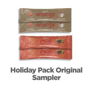 Perk Energy/Chill Original Holiday Sampler 4 Sticks