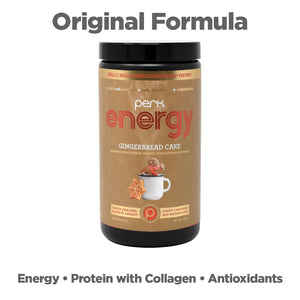Perk Energy Original Gingerbread Cake (20 Servings)