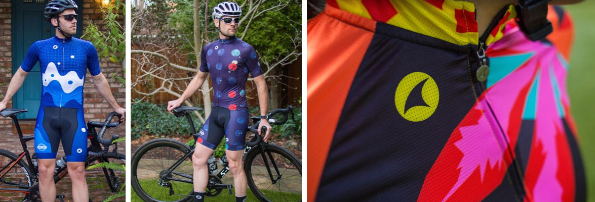Be bold with unique cycling artist series jerseys