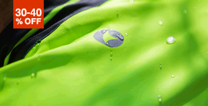 Storm Water-Repelling Cycling Clothing On Sale