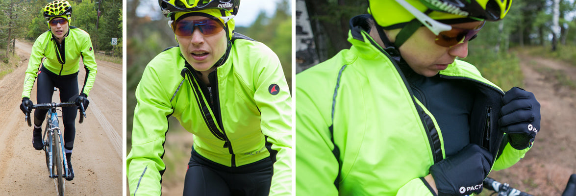 Cascade cycling jacket for men and women