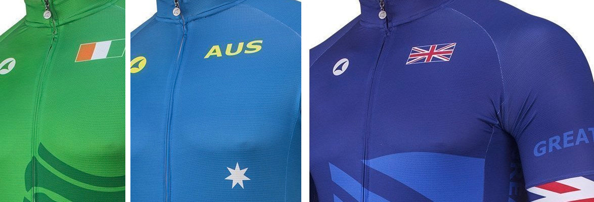 Commonwealth Cycling Jerseys