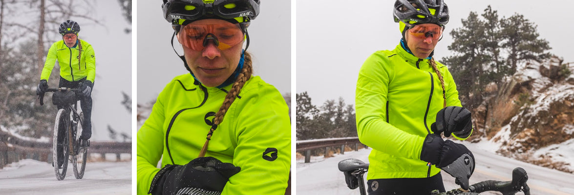 Extreme Cold Weather Cycling Clothing