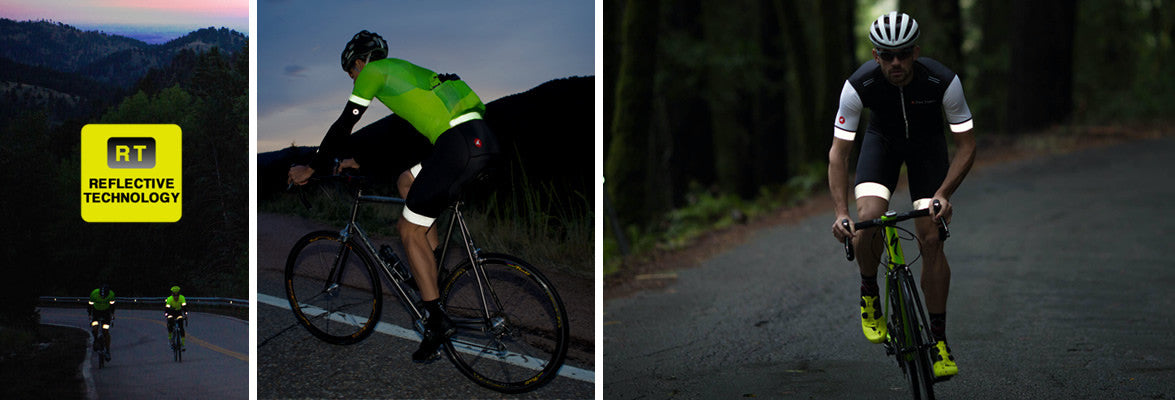 Reflective Cycling Clothing for Men & Women