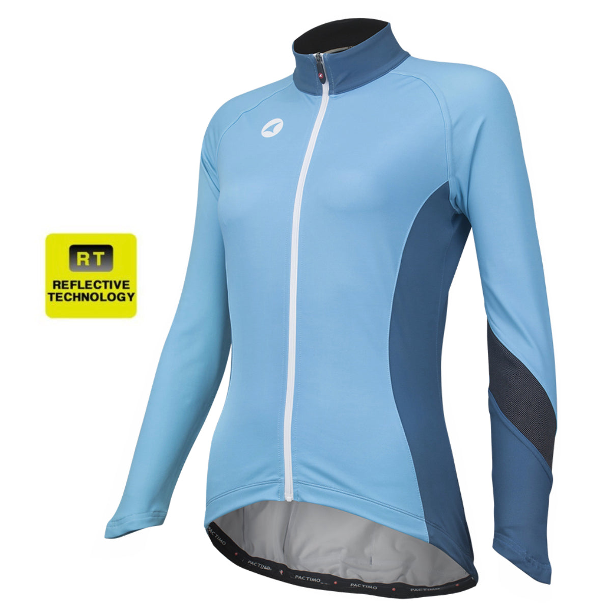 3165ba9ab Alpine Thermal Reflective Cycling Jersey for Women - Pactimo