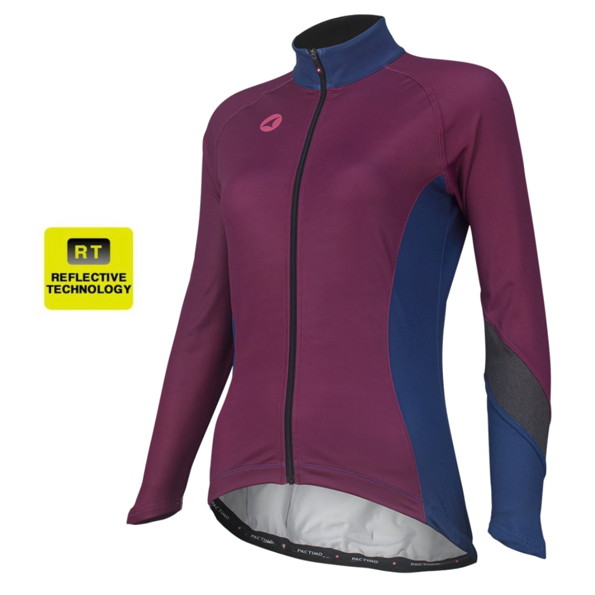 e63818b7c Alpine Thermal Reflective Cycling Jersey for Women - Pactimo