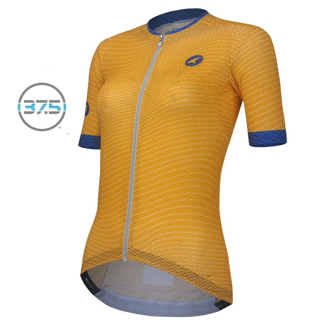 Summit Climber s Cycling Jersey for Women - Wave Design - Pactimo 509e7149e