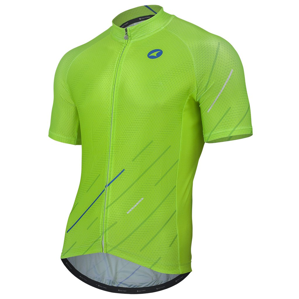 196cbd580 Traditional Fit Cycling Jersey for Men in Variant Design - Pactimo