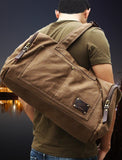 Travel Bags Large Capacity Canvas Rugged Duffle Bag