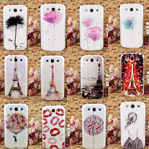 Beautiful Fashion Patterns Hard Back Skin Case Cover. For Samsung S3, i9300 at ShopitWow.com