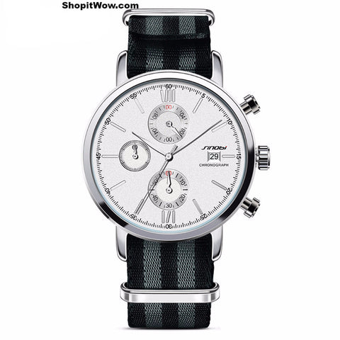 Men's Fashionable Sport Chronograph Wrist Watches at ShopitWow.com