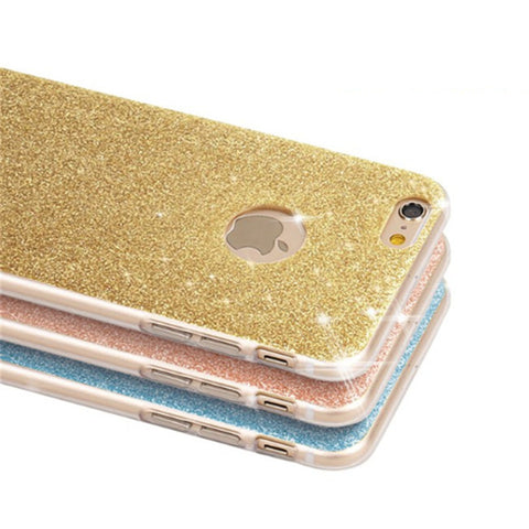 NEW Flash Glitter Cases For Apple iPhones Cases